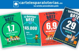 ¡Nuevos diseños para tus Carteles para Loterías!