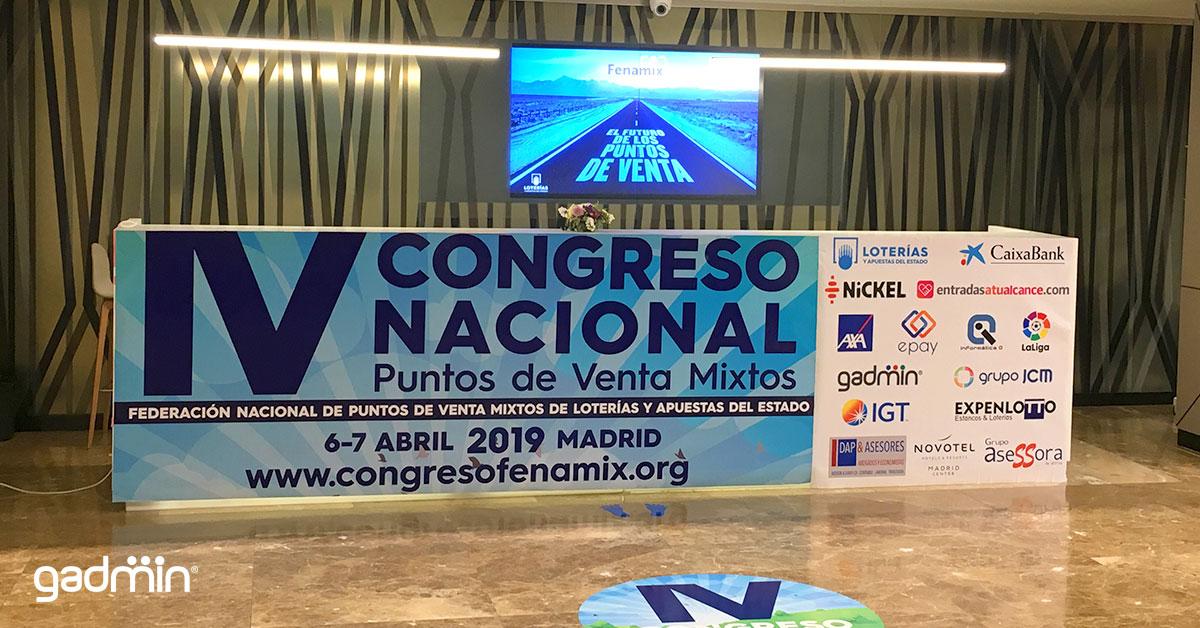 Recepción IV Congreso Fenamix