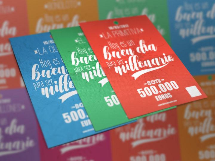 ¡Nuevos carteles de loterías para esta primavera 2017!