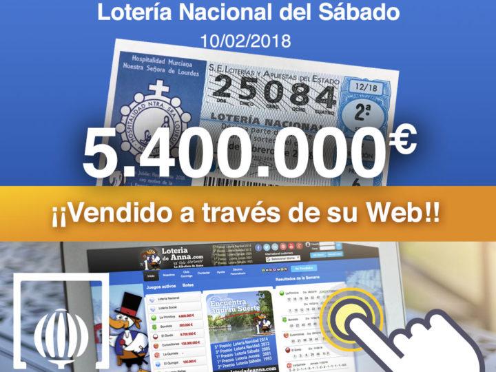 Primer Premio Lotería Nacional repartido por El Pato Afortunado de La Albufera de Anna